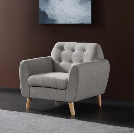 Romanoff_כורסא בודדת אפור מבית ברדקס