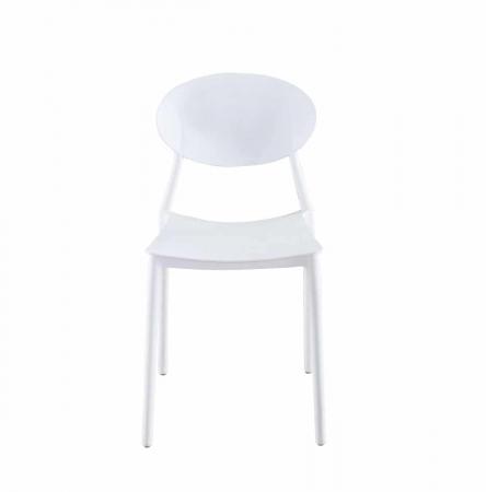 GLASGOW כסא לפינת אוכל לבן