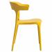 BRASSERIE כסא מעוצב לפינת אוכל צהוב