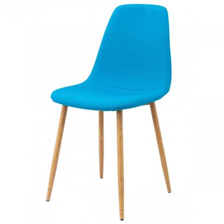 SOLNA כסא לפינת אוכל כחול