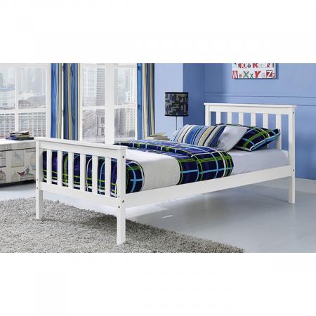 PROSPER מיטת יחיד לילדים ונוער מעץ מלא 90*190 ס''מ מבית ברדקס