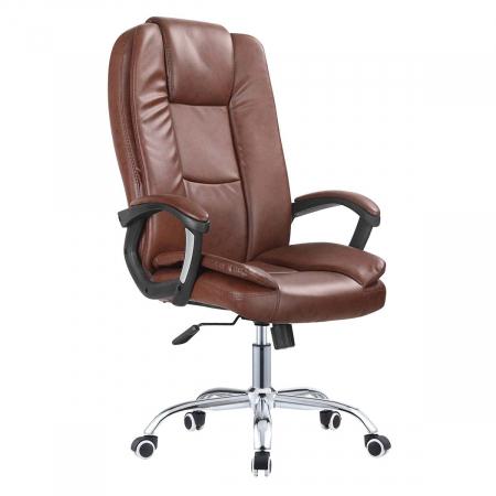 Buro_כסא מנהלים יוקראתי צבע קוניאק מביצ ברדקס