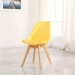 OSCAR כסא מעוצב לפינת אוכל צהוב