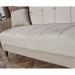 VIOLA ספה תלת מושבית נפתחת למיטה עם ארגז מצעים בז'