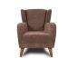 Camper_כורסא מעוצבת צבע חום