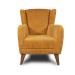 Camper_כורסא מעוצבת צבע חרדל