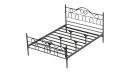 TRUVA מיטה זוגית שחור