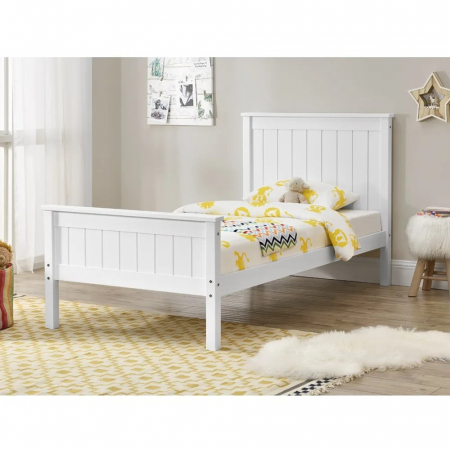 EDEN מיטת יחיד מעץ מלא