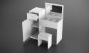 שידת איפור OSLO כולל כסא תואם
