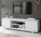 Barcelona מזנון טלוויזיה 160 ס''מ לבן