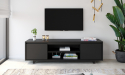 Barcelona מזנון טלוויזיה 160 שחור