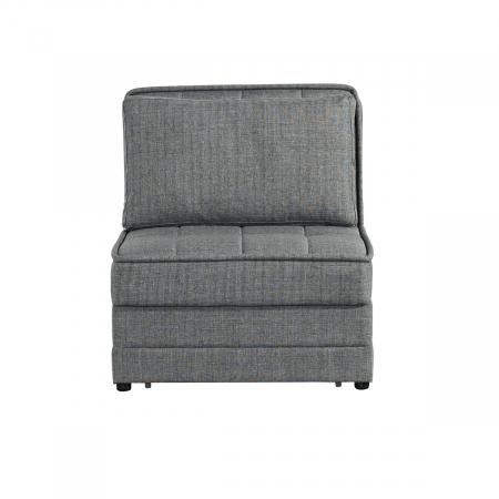 BARISTA_כורסא נפתחת למיטה אפור בהיר