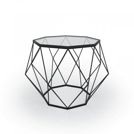 שולחן סלון DIAMOND צבע שחור