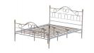 TRUVA מיטה זוגית אפור בסיס