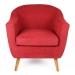 Wengen_כורסא מעוצבת אדום