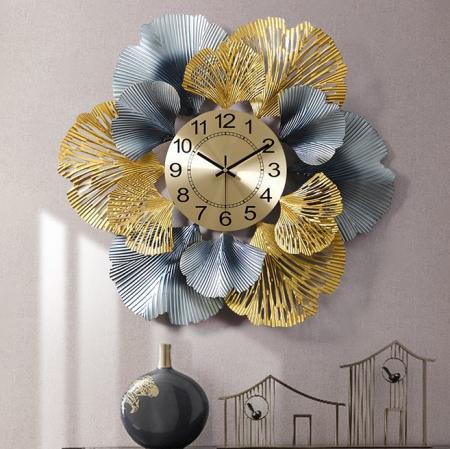 Vikram-sk254 שעון קיר מתכת