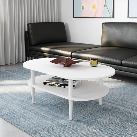 MARYLAND שולחן סלון לבן
