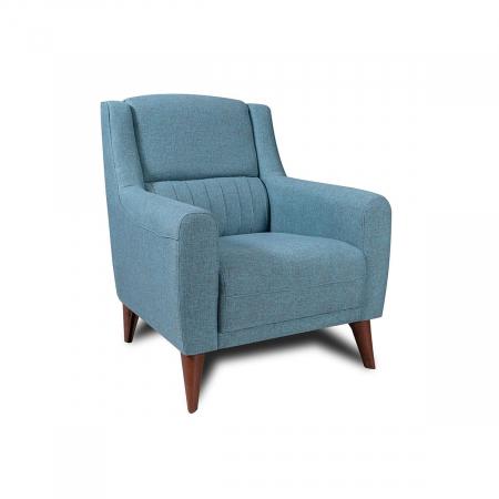 Levante_כורסא מעוצבת צבע תכלת מבית ברדקס