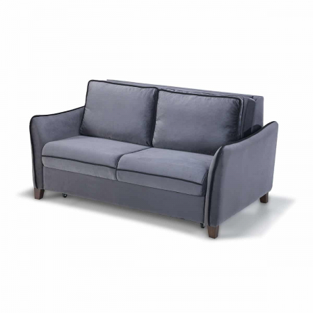 Levon_ספה דו מושבית נפתחת למיטה זוגית עם ארגז מצעים מבית ברדקס