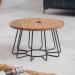 HAWAII שולחן סלון מעץ מלא