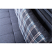 Satis_Deluxe ספה נפתחת למיטה זוגית עם ארגז מצעים צבע כחול