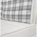 Satis_Deluxe ספה נפתחת למיטה זוגית עם ארגז מצעים צבע אפור בהיר