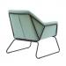 BRIGHTON כורסא מעוצבת צבע ירוק בהיר