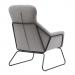 LIVERPOOL כורסא מעוצבת אפור בהיר