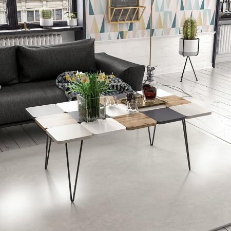 LEAF שולחן סלון פסיפס