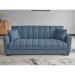 LUCAS ספה תלת מושבית נפתחתלמיטה צבע כחול