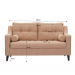 LOVE ספה דו מושבית נפתחת למיטה זוגית מידות