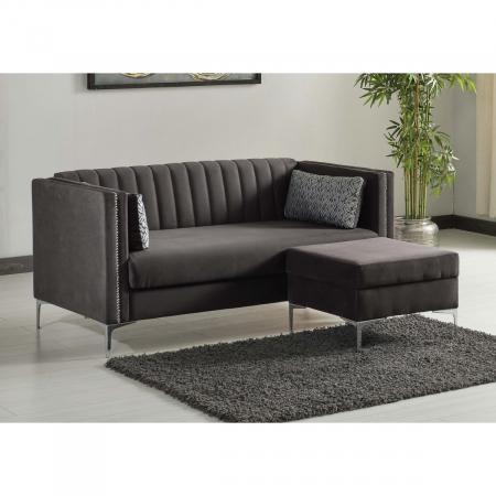 STORY ספה תלת מושבית עם ארגז מצעים כולל הדום מבית ברדקס