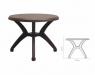 COLUMBIA שולחן לפינת אולכ צבע חום