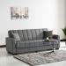 ASSOL ספה תלת מושבית נפתחת למיטה עם ארגז צבע אפור מבית ברדקס