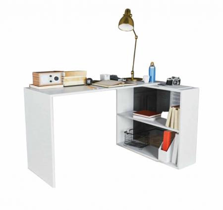 LIAM שולחן כתיבה עם מדפים