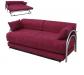 ספה נפתחת למיטה על קל PASHA צבע בורדו